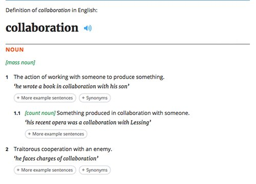 collaboration_definition