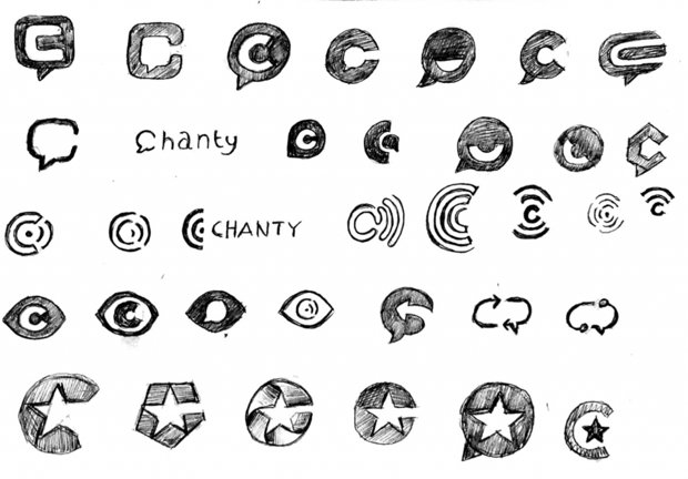 Chanty logo ideas