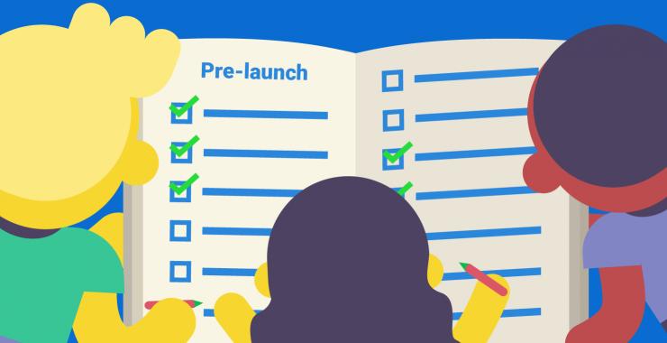 pre-launch checklist
