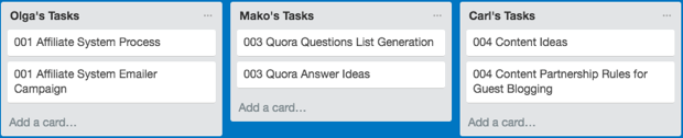 Trello for marketing teams