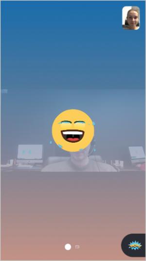 Skype reactions