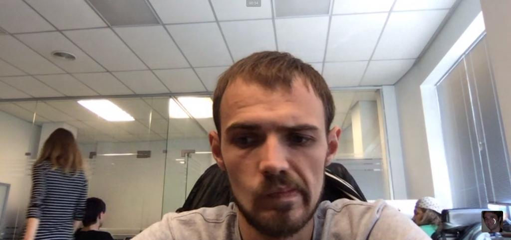 Slack videocall