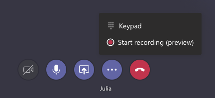 Video calls features in MT