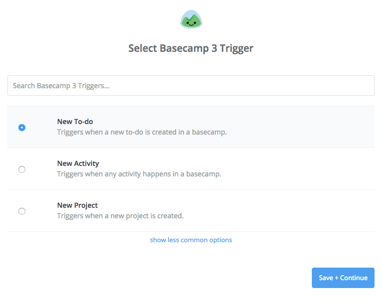 Basecamp trigger