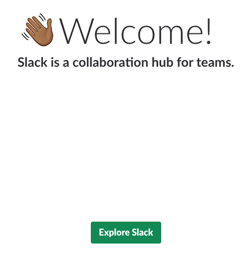 Slack sign-up tutorial