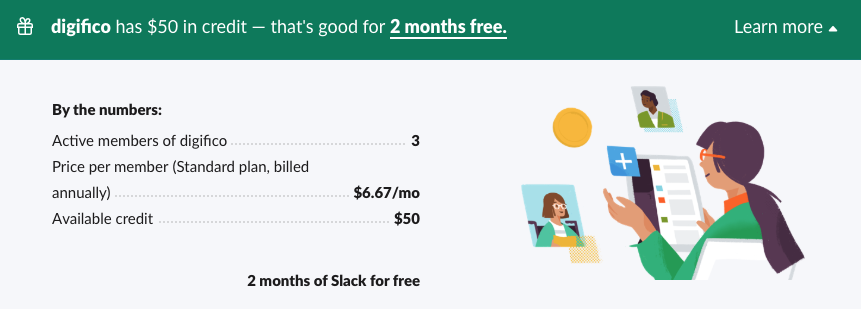 How to pay less for Slack
