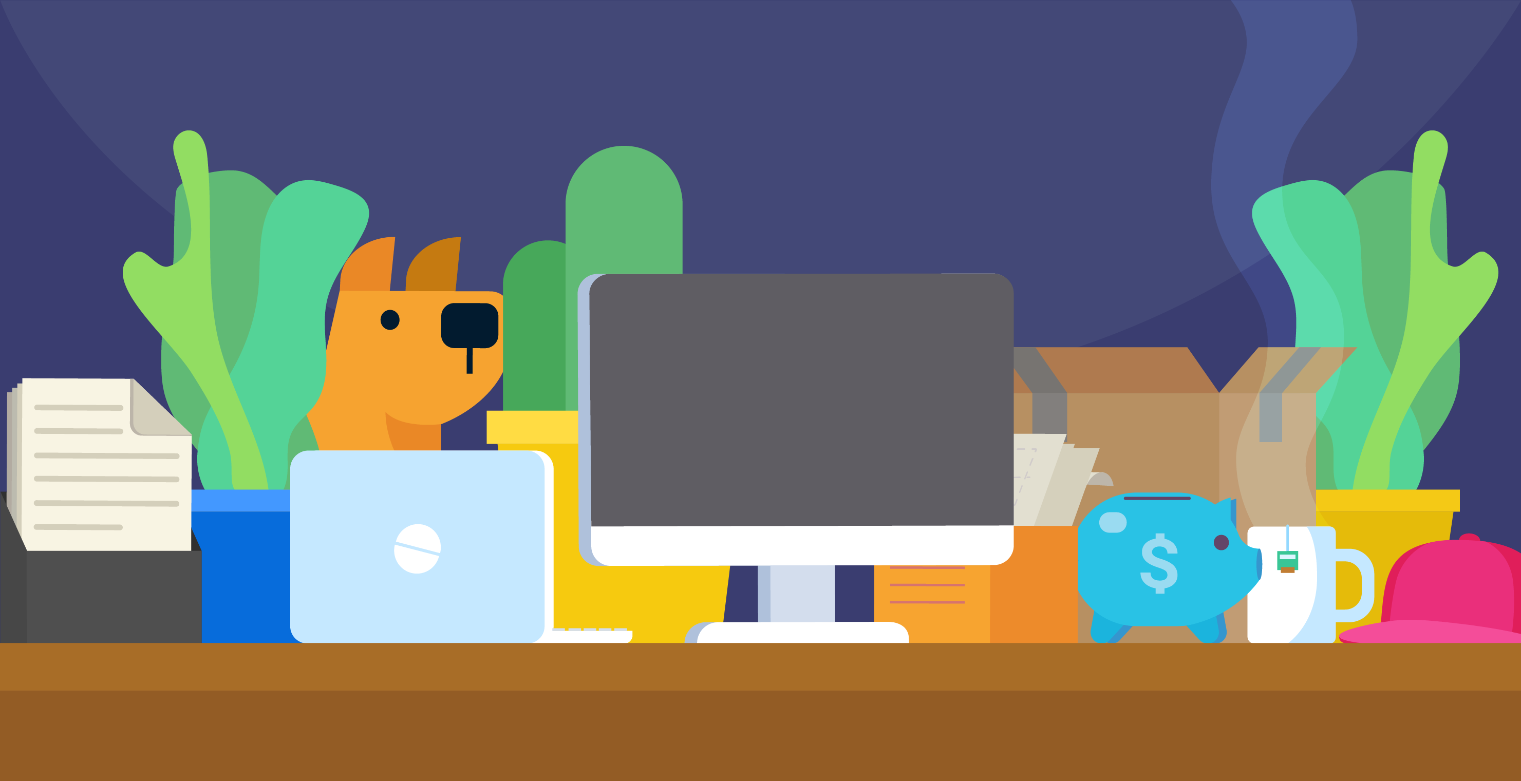 Ways to organize your desk