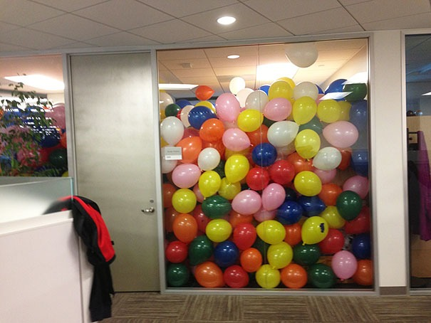 Ballooned room