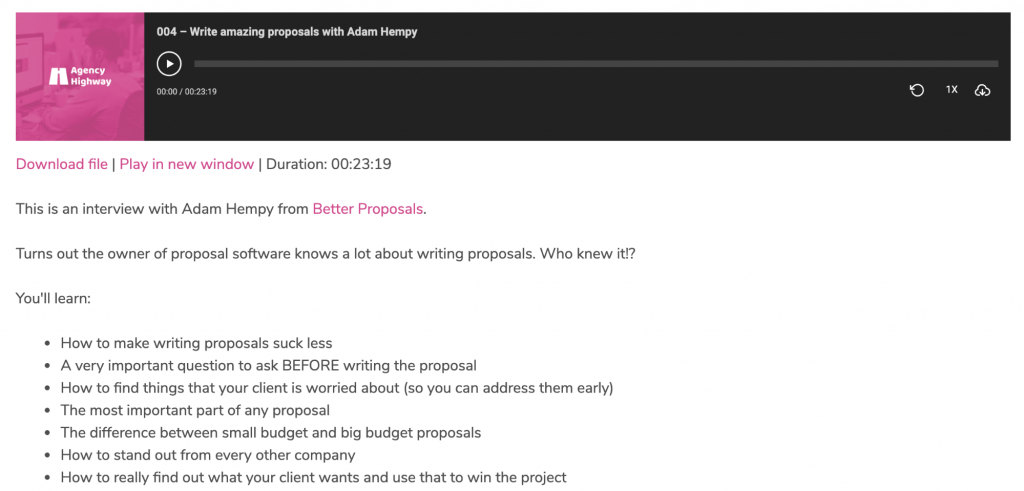 interview with Adam Hempy, CEO and founder of Better Proposals