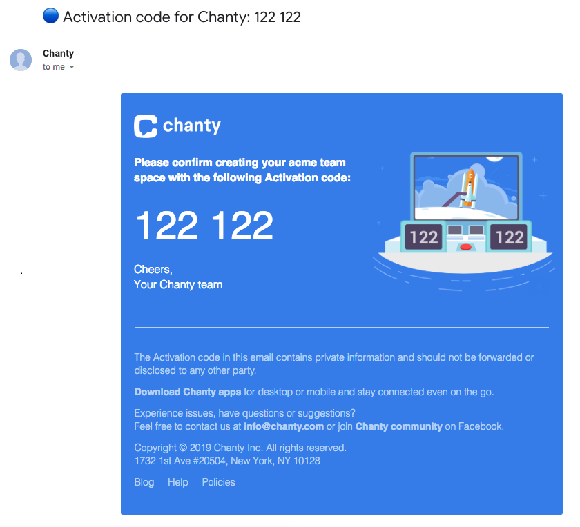 activation-code-chanty