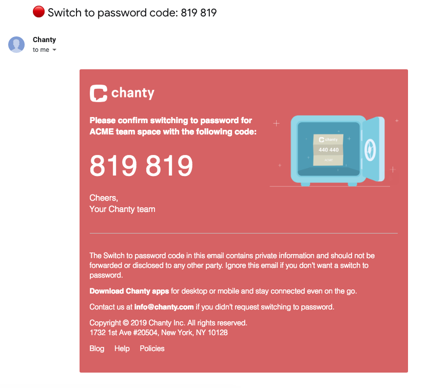 Switch-to-password-email